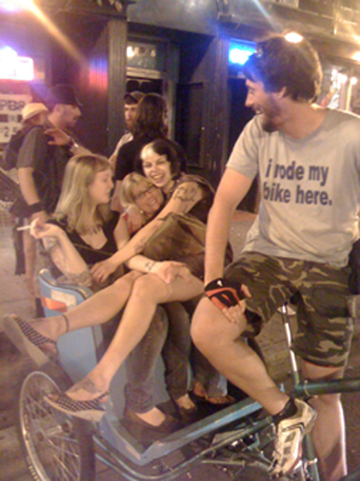 Pedicabbing is fun!