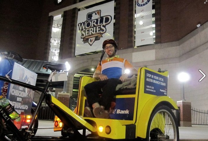 The best pedicabs are available to the best pedicabbers at Movemint Bike Cab